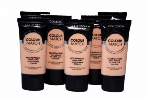 12 x Collection Colour Match Foundation Tubes | Warm Beige | RRP £36 | Wholesale